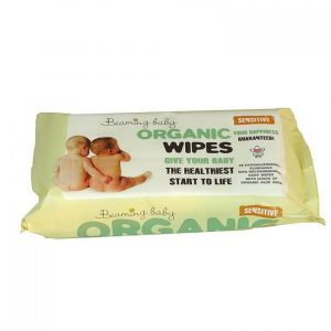 Beaming Baby Organic Wipes Sensitive certified BAB0722BW