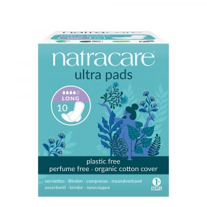 FEM2053LI Natracare Ultra Pads Winged Liners Long plastic Free Organic Cotton