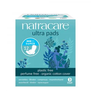 FEM2053LI Natracare Ultra Pads Winged Liners Super Plastic Free Organic Cotton