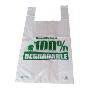 Degradable Carrier Bags Pack of 50-0