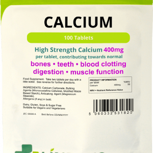 Lindens Calcium 400mg Tablets