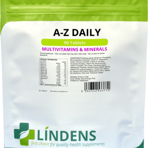 Lindens A-Z Daily MultiVitamins & Minerals Tablets