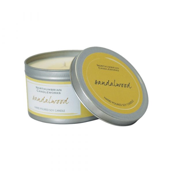 Large Soy Candle - Sandalwood-0
