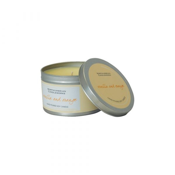 Large Soy Candle - Vanilla & Orange-0