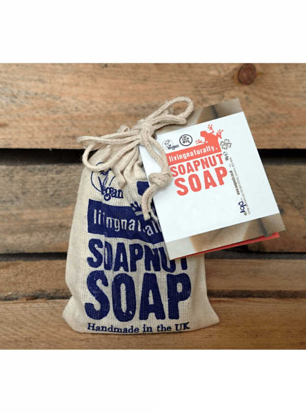 Coconutty Soapnut Shampoo Bar in Bag