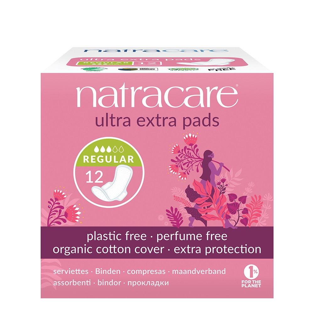 Natracare Ultra Extra Pads – Normal
