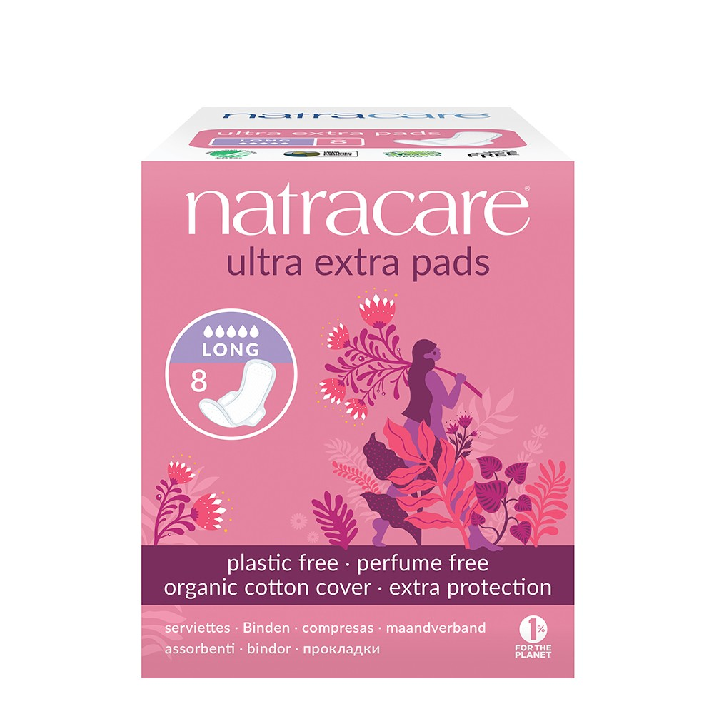 Natracare Ultra Extra Pads – Long