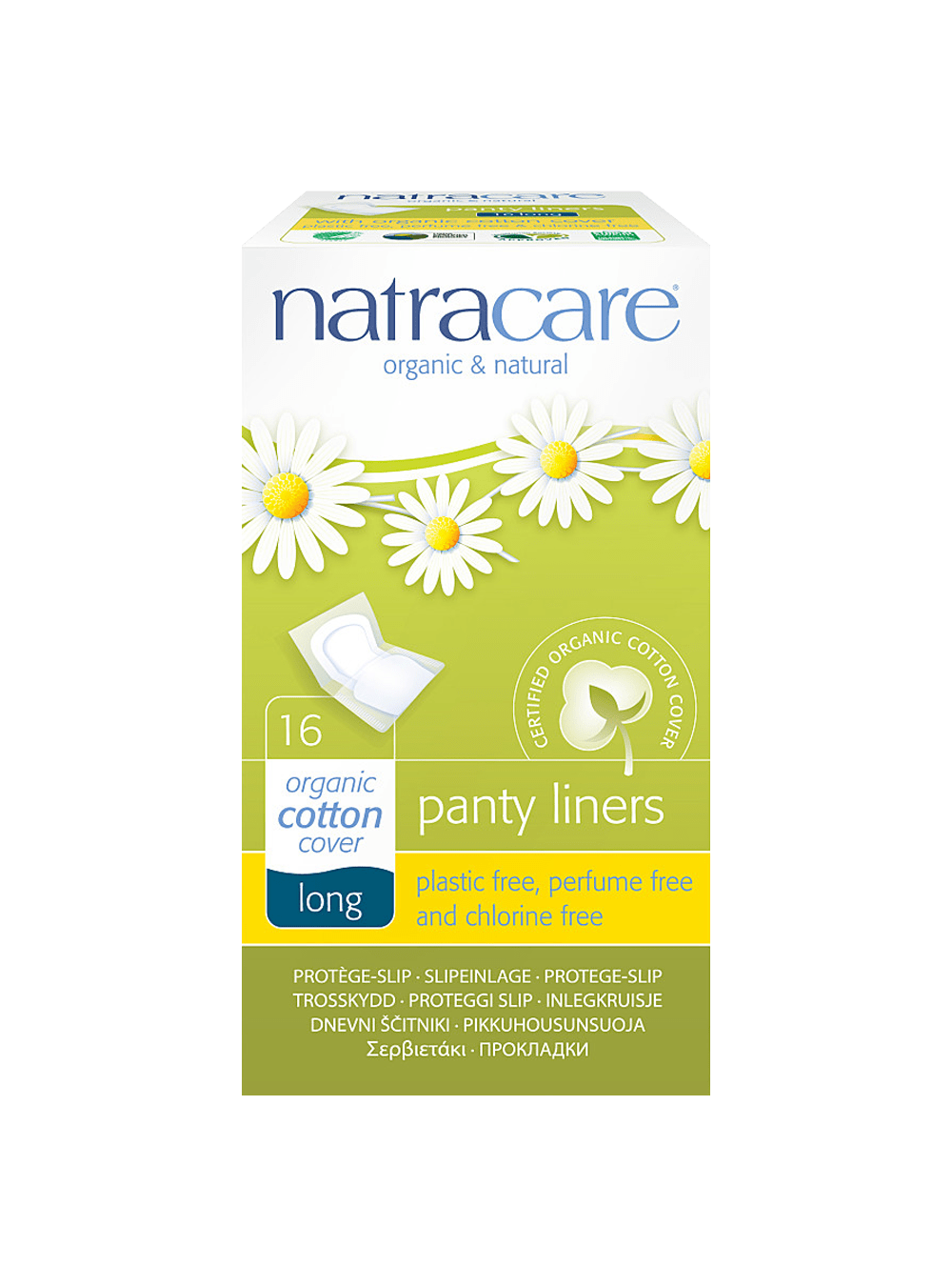Natracare Long Panty Liners (Wrapped)