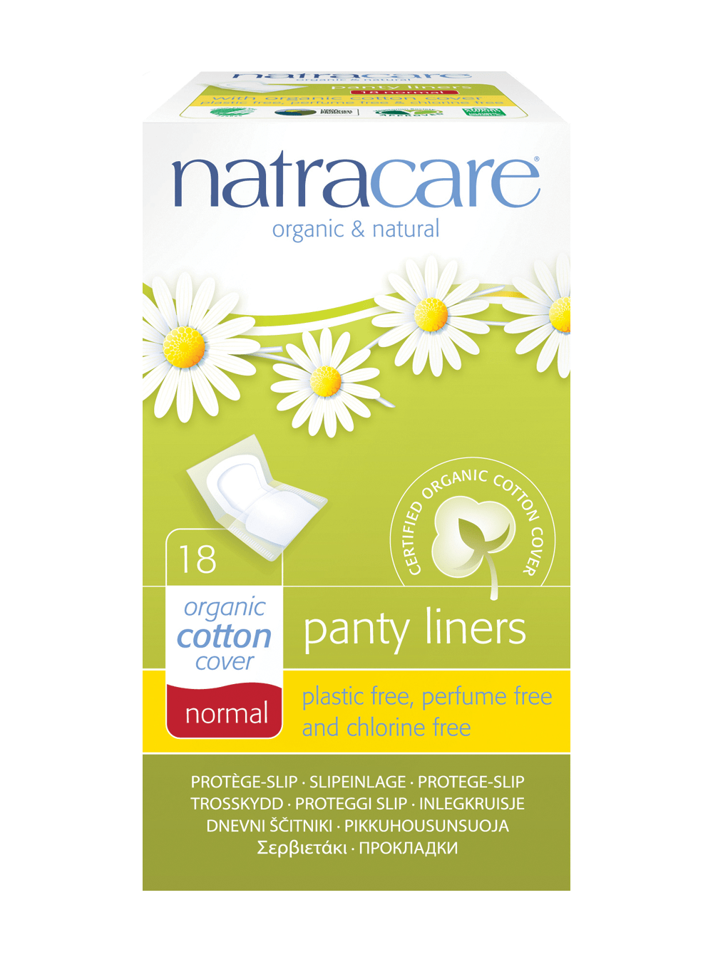 Natracare Normal Panty Liners (Wrapped)