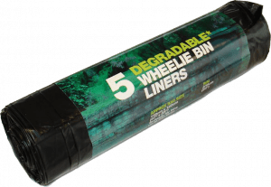 D2W Degradable Wheelie Bin Liners