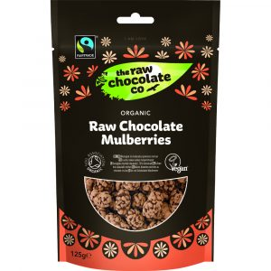 The Raw Chocolate Company Organic Chocolate Mulberries 125g