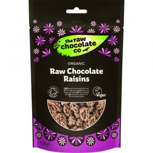 The Raw Chocolate Company Organic Chocolate Raisins 125g