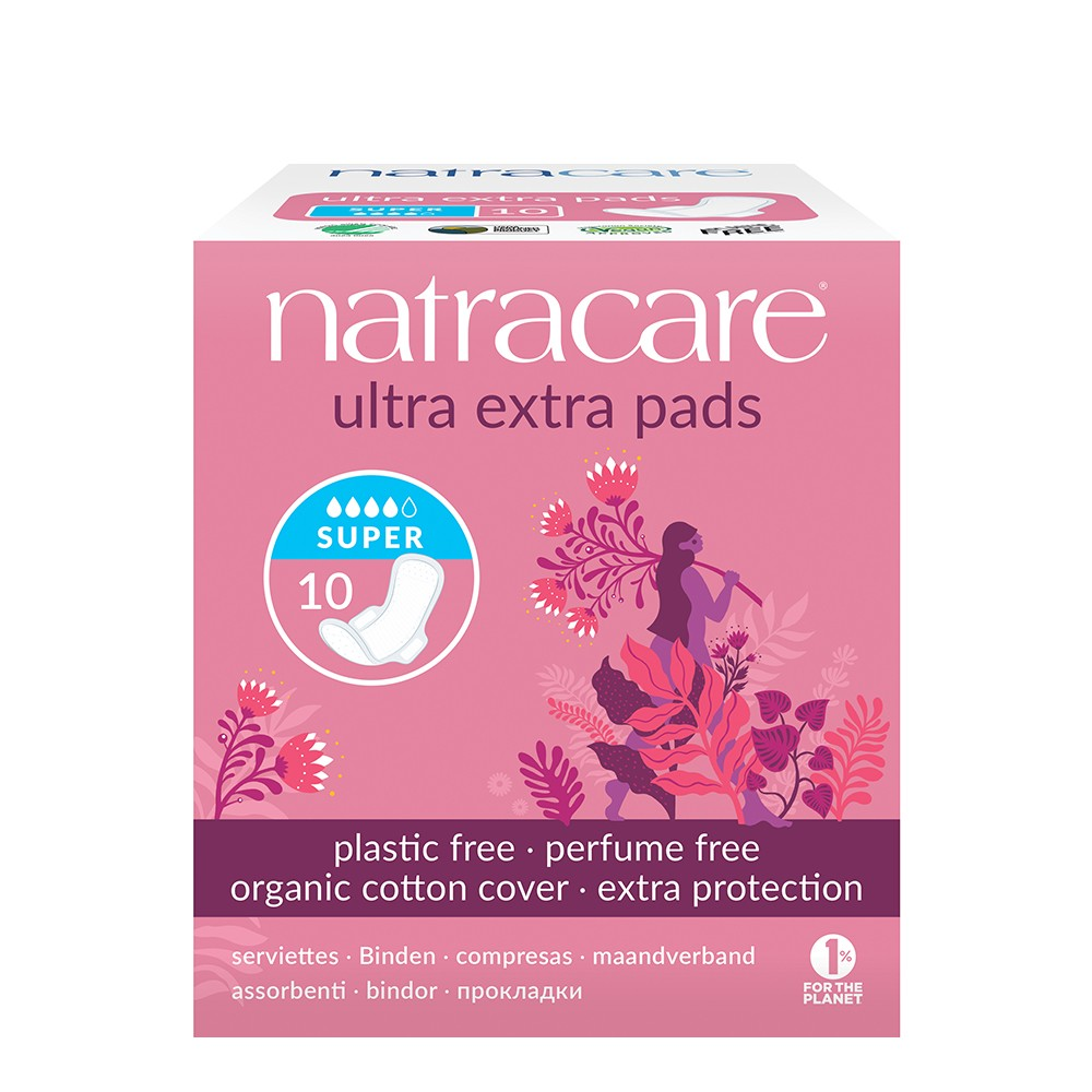 Natracare Ultra Extra Pads – Super