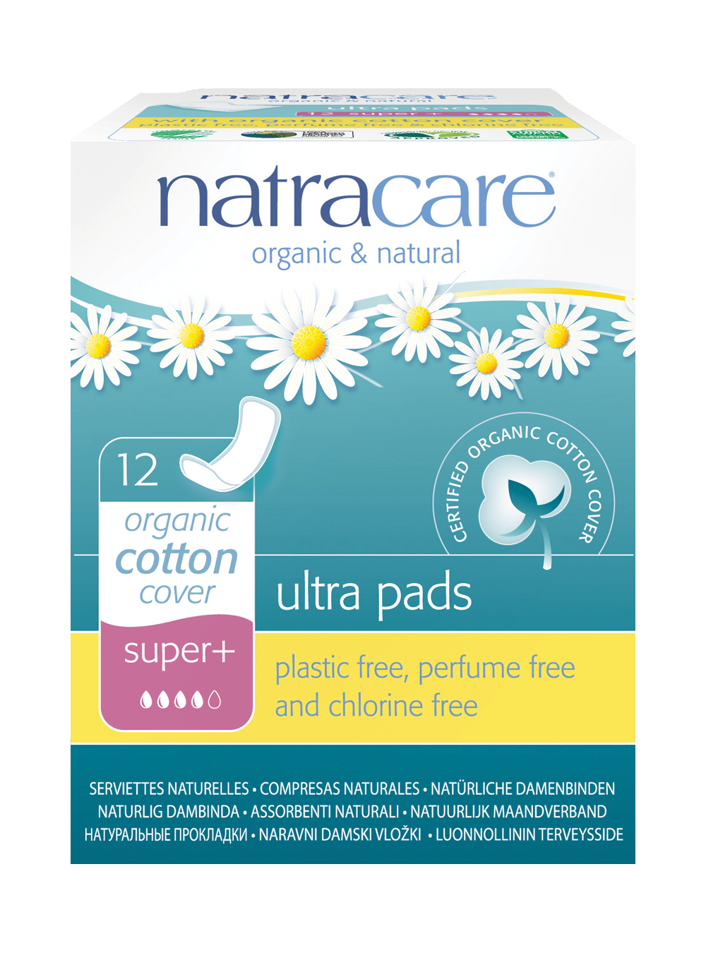 Natracare Ultra Pad – Winged Liners Super Plus