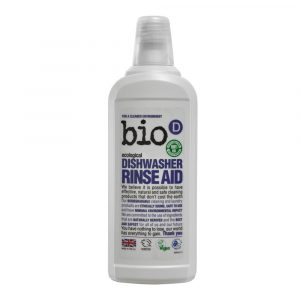 Bio-D Dishwasher Rinse Aid Vegan 750ml