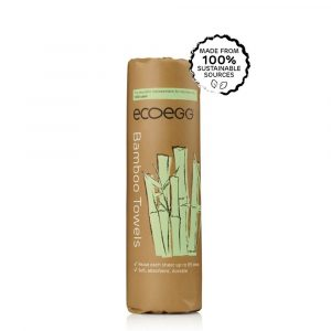 EcoEgg Bamboo Kitchen Towel Reusable Roll