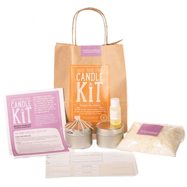 Make Your Own Candle Kit - Honeysuckle Jasmine-0