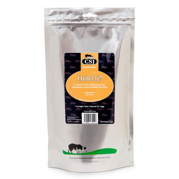 CSJ Hold It! A Natural Herb To Assist Your Dogs Normal Bladder Function-0