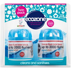EcoZone Forever Flush 2000 - Twin Pack