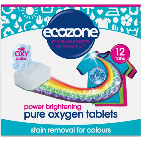 EcoZone Power Brightening Pure Oxygen Tablets