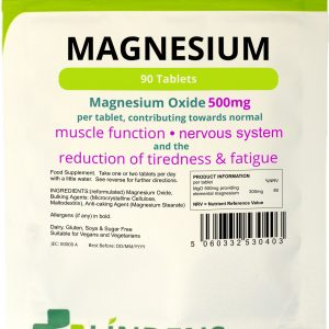 Lindens Magnesium Tablets 500mg