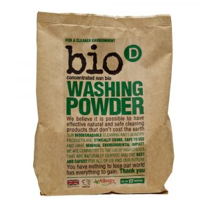 Bio-D Washing Powder 1KG Vegan Allergy UK