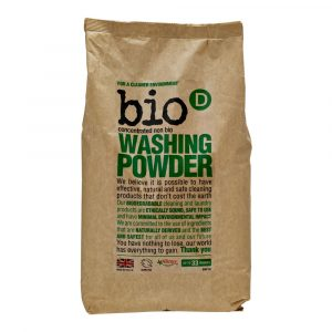 Bio-D Washing Powder 2KG vegan cruelty free allergy uk