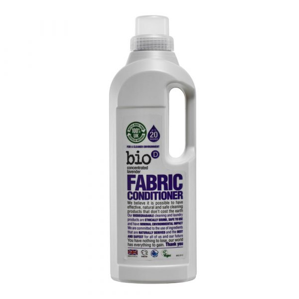 Bio-D Lavender Fabric Conditioner 1 Litre vegan