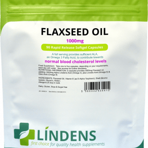 Lindens Flaxseed Oil 1000mg Capsules