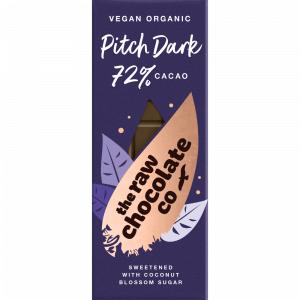 Raw Chocolate Bar - Pitch Dark