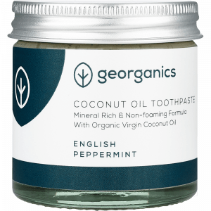 Georganics Natural Mineral-rich Toothpaste English Peppermint 120ml