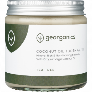 Georganics Natural Mineral-rich Toothpaste Tea Tree 120ml