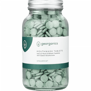 Georganics Mouthwash Tablets Spearmint x 180