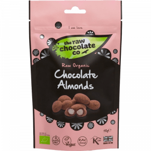 The Raw Chocolate Company Organic Chocolate Almonds