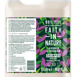 Faith in Nature Lavender & Geranium Shampoo 5 Litre