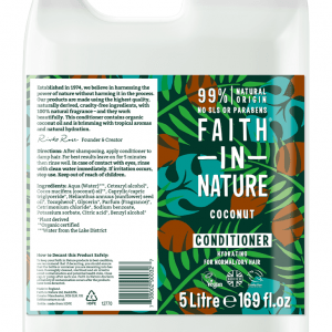 Faith in Nature Coconut Conditioner 5 Litre