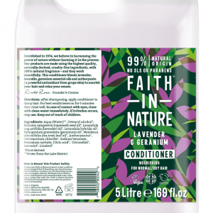 Faith in Nature Lavender & Geranium Conditioner 5 Litre