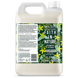 Faith in Nature Seaweed & Citrus Shampoo 5 Litre