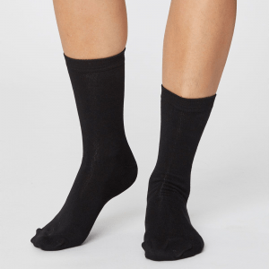 Bamboo Socks - Solid Jackie Black