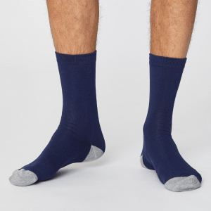 Bamboo Socks - Solid Navy