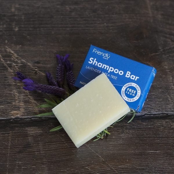 Friendly Soap Lavender & Tea Tree Shampoo Bar