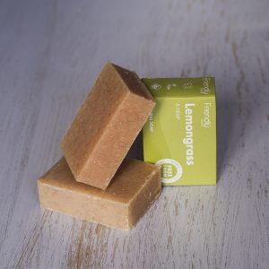 Friendly Soap Lemongrass & Hemp Soap Bar