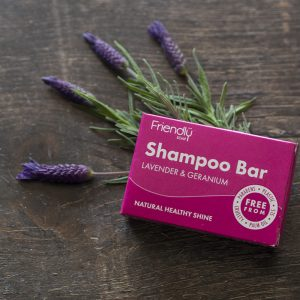 Friendly Soap Lavender & Geranium Shampoo Bar