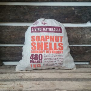 Organic Soapnuts 1kg with Storage Bag - 480 Washes