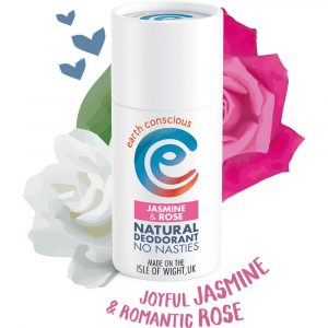 Earth Conscious Natural Jasmine & Rose Deodorant Stick 60g