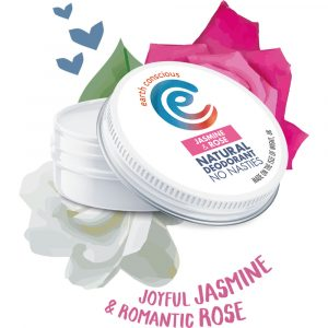 Earth Conscious Natural Jasmine & Rose Deodorant Tin 60g