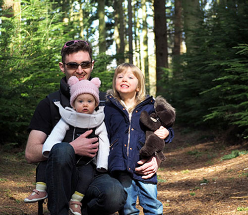 Andrew and our daughters and why Wikaniko has become even more important.