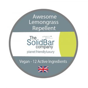 WIK2062BR The Solid Bar Company Awesome Lemongrass Repellent