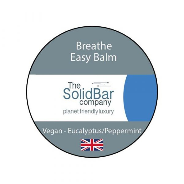 WIK2067BE The Solid Bar Company Breathe Easy Balm