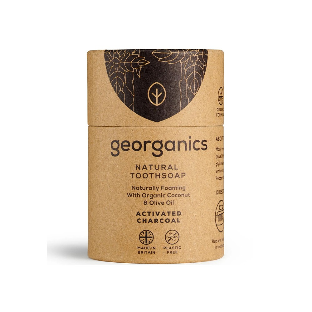 Georganics Toothsoap – Activated Charcoal